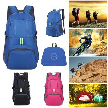 35L mochila de viaje de equipaje mochila capacidad plegable impermeable al aire libre mochila para viajes de senderismo Camping escalada