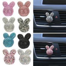 Car Perfume Encrusted Rabbit Air Conditioning Outlet Clip Accessories Interior Decoration