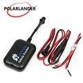 Мини 4 полосы GSM GPRS система слежения SMS Автомобиль Мотоцикл монитор трекер в реальном времени трекер сигнализация