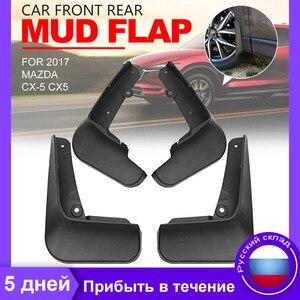 Image 1 - Palas para Mazda CX 5 CX5 2017 Car Acessórios Mudflaps Splash Guardas Mudguards Fender Flares