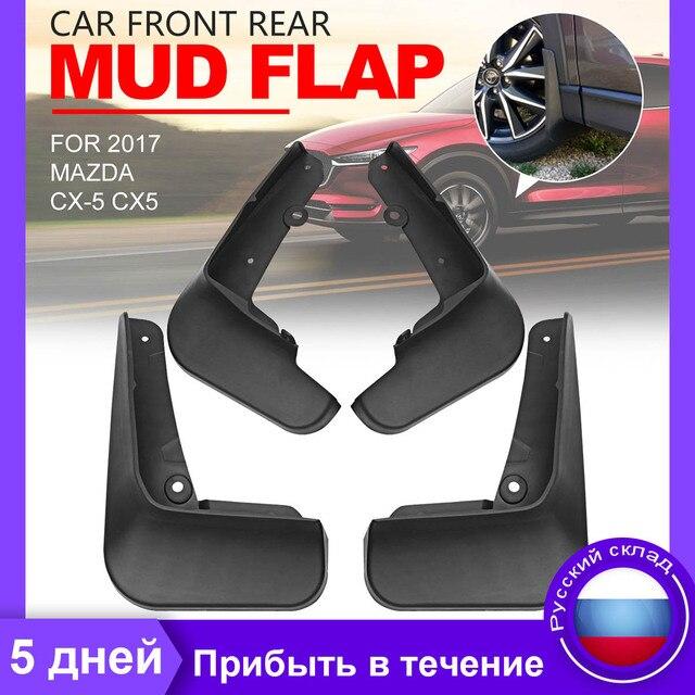 Palas para Mazda CX 5 CX5 2017 Car Acessórios Mudflaps Splash Guardas Mudguards Fender Flares