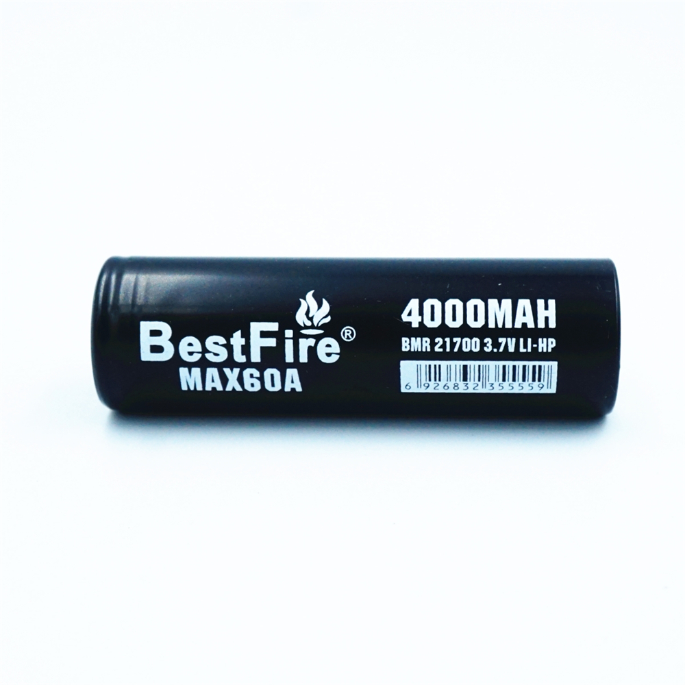 Image 3 - 1 pcs BESTFIRE IMR 21700 4000mah 60A Flat Top Rechargeable Lithiun Battery for ECIG flashlight toy car notebook Li ion batterisRechargeable Batteries   -