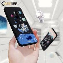 CASEIER Space Case For Samsung Galaxy S6 S7 Edge Matte Soft TPU Phone Cases S8 Plus Note 8 Covers Funda Capas