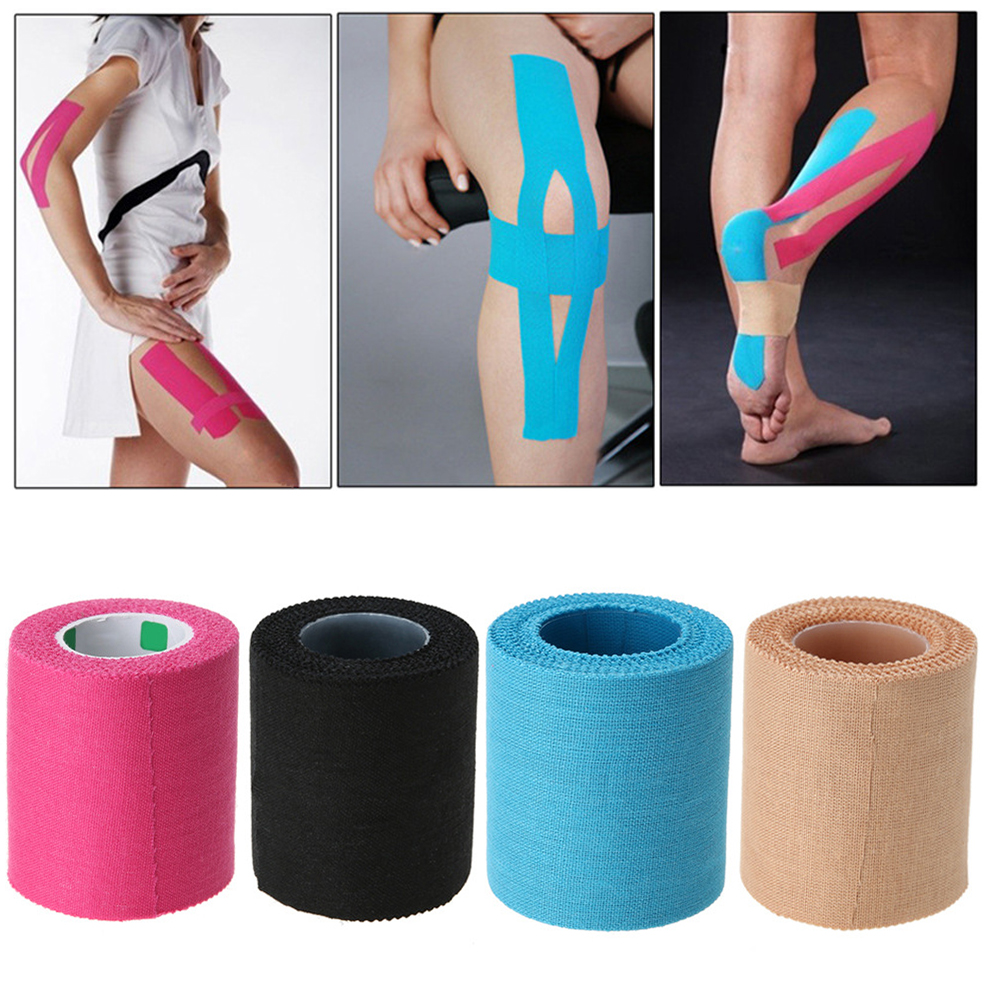 Serrated-Tape First-Aid-Supplies Kinesiology Outdoor Sport Cotton Bandage Muscle-Sticker