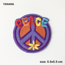 Anti war Anti-war peace personality DIY Badge Clothing Decoration stick paste on clothes Very convenient