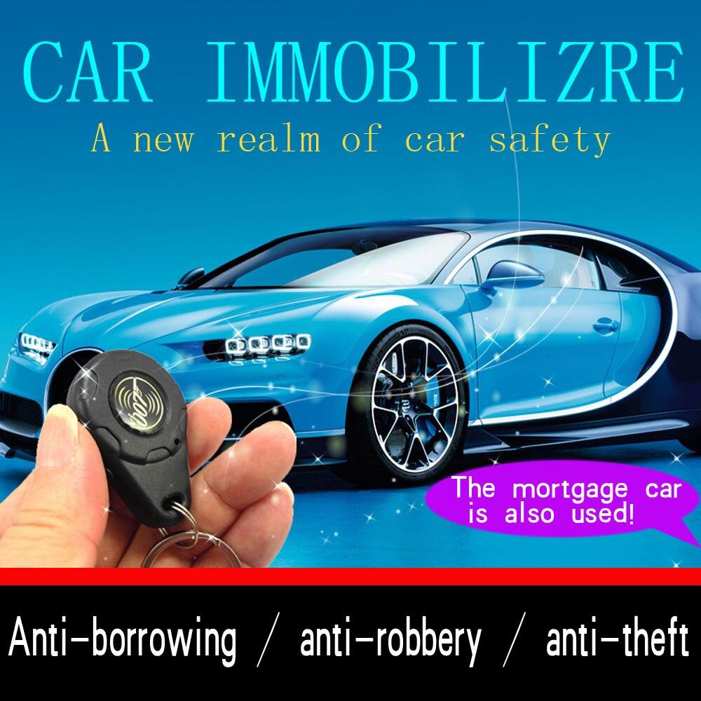 Upgrade Car Immobilizer Security Alarm System Electronic Hidden Lock Circuit Cut Off Anti Hijacking Theft Security Universal