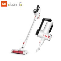 XIAOMI Deerma VC40 Vertical Vacuum Cleaner Handheld Steel Mesh Rotary Filter Vacuum Cleaner Car Household Vacuum CleanerPortable