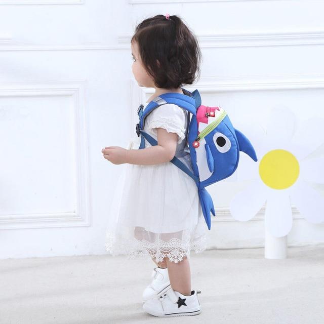 Baby Shark Backpack for Toddler 2