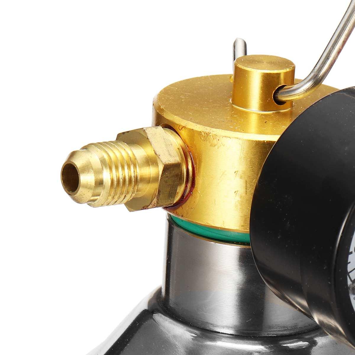 1000 mL A//C Flush Gun Canister Clean Tool Kit Hose For R134a R12 R22 R410a R404a