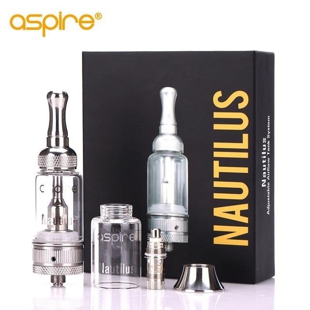 Electronic Cigarette MTL Atomizer Aspire Nautilus(mini) Tank 5ML 2ML Use Nautilus BVC Coil 1.6/1.8ohm E Cig Vape 510 Vaporizer