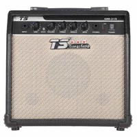 GM 215 Professional 15W Electric Guitar Amplifier Amp Distortion with 3 Band EQ 5 Speaker