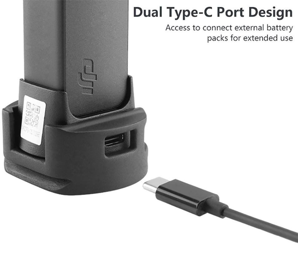 BEESCLOVER Quick Release Mount with Tripod Head Ulanzi OP-4 WiFi Tripod Adapter for DJI Osmo Pocket WiFi Base Accessory r29