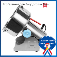 2500G Big Capacity Multifunction Pulverizer Machine 220V Automatic Mill Herb Grinder Swing Type Electric Grain Grinder