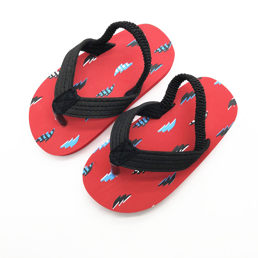 0d47d04e4 Beach Slippers Kids Flip Flops Boys Sandals for Boy Barefoot Shoes Kids Red Sea  Slipper Kid