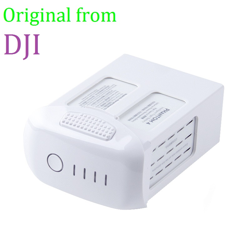 100 Original DJI Phantom 4 Pro Battery 5870mAh High Capacity Intelligent Flight 30 mins Battery for