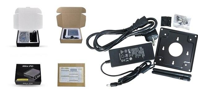 Qotom Q555G6 Q575G6 7-й промышленный ПК шлюз межсетевой экран маршрутизатор для pfSense-Intel i5 7200U i7 7500U AES-NI 5