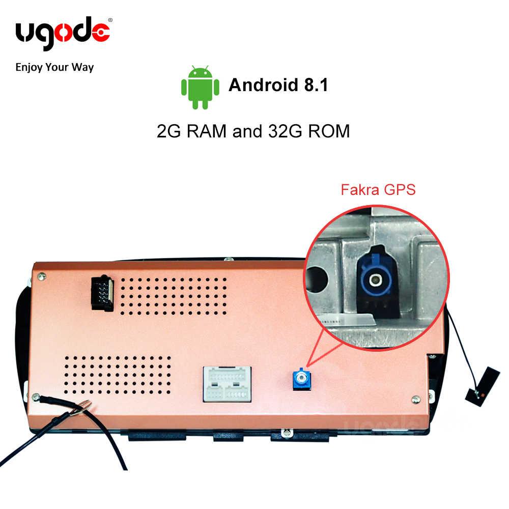 Ugode в наличии ID6 ID5 2 ГБ + 32 ГБ, Android 8,1 автомобиль радио мультимедиа плеер для BMW 5 серии E60 E61 E63 E64 E90 E91 E92 CCC слуховой аппарат