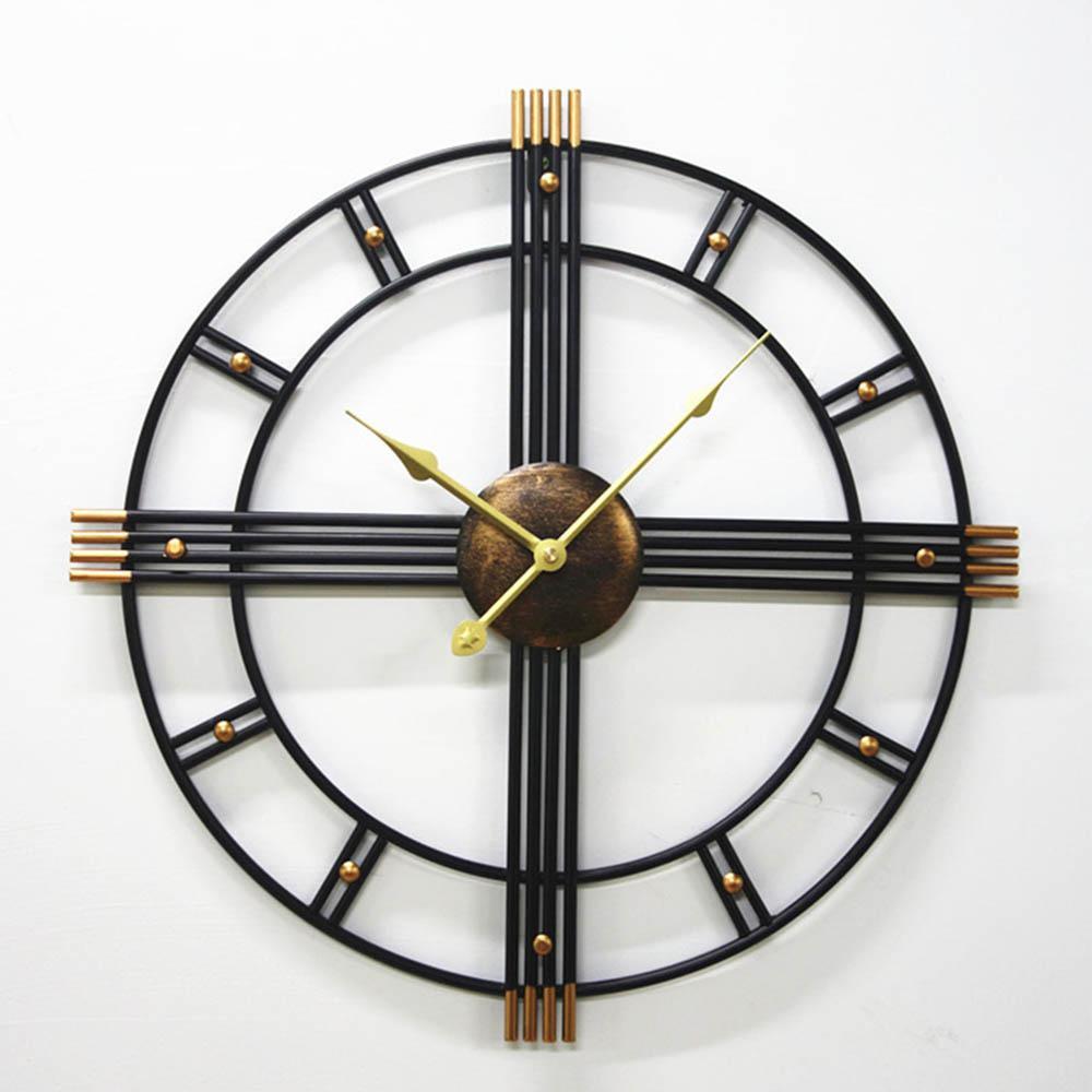 Grosse Horloge Fer Forgé moderne grande horloge murale home décoration salon chambre