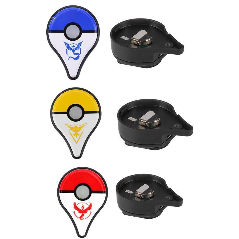 Alliage graine 1 pièces Bluetooth interactif Bracelet classique Bracelet jeu jouet + chargeur adaptateur pour Nintendo Pokemon Go Plus 3 couleurs