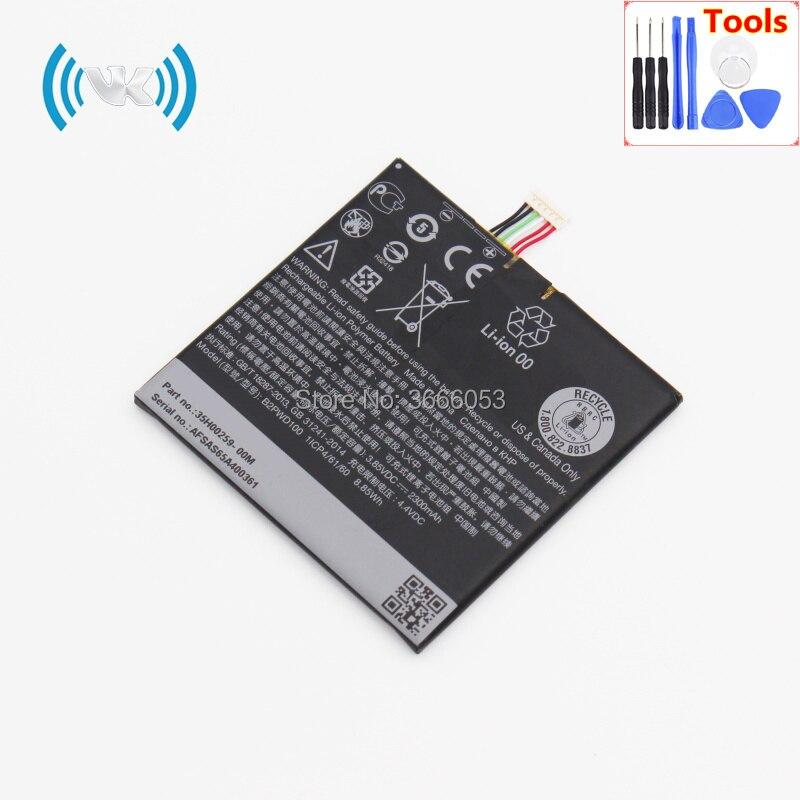 VK 2300 mAh/8.85Wh 3,8 V B2PWD100 запасная батарея для ONE A9S LTE TD-LTE встроенный литий-полимерный аккумулятор