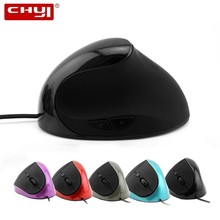 CHYI 3D Wired Optical Gaming Mouse With USB Portable 1600DPI 2.4GH Ergonomic Upright Vertical Mouse For Desktop & Laptop original logitech g102 gaming wired mouse optical wired game mouse support desktop laptop support windows 10 8 7