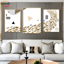 Nordic Geometric Posters and Prints Minimalist Art Canvas Painting Abstract  Picture Print Modern Living Room Home Decor