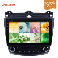 Seicane 2Din Android 8.1 10.1 GPS Car Radio Wifi Multimedia Player Head Unit For Honda Accord 7 2003 2004 2005 2006 2007