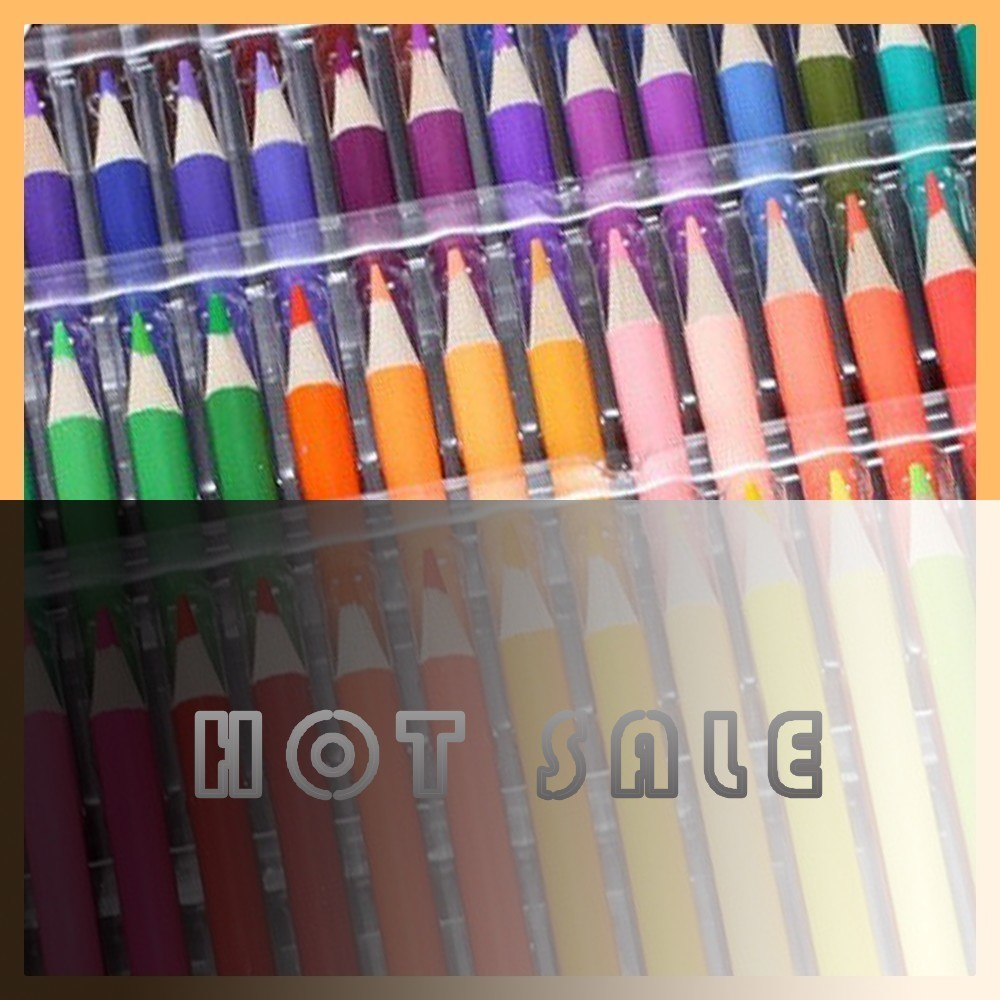 Lovely Genuine 136 oily color pencil painting products logs creative pencils environmental safety school supplies GOOD durable genuine 136 oily color pencil painting products logs creative pencils environmental safety school supplies not