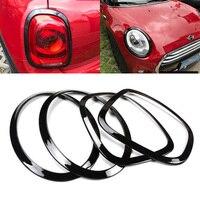 4pcs/set Newest Headlight Taillight Surround Rim Trim Ring For Mini Cooper F55 F56
