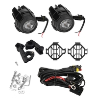 1 Set 12 24V 40W Motorcycle Light Assembly Fog Lights LED Auxiliary Driving Lamp for BMW R1200GS adv F800GS F700GS F650gs