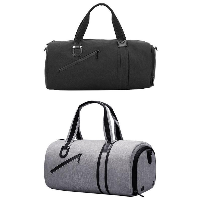 Sac de voyage 19 pouces 35L sac de séparation sec-humide sac de Sport Fitness sac à main pour hommes femmes
