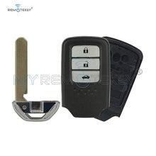 Чехол для смарт ключей remtekey с аварийным ключом 3 кнопки