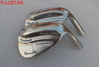 FUJISTAR GOLF Roma Ro Alcobaca tour stream CF-forged carbon steel golf wedge head silver colour