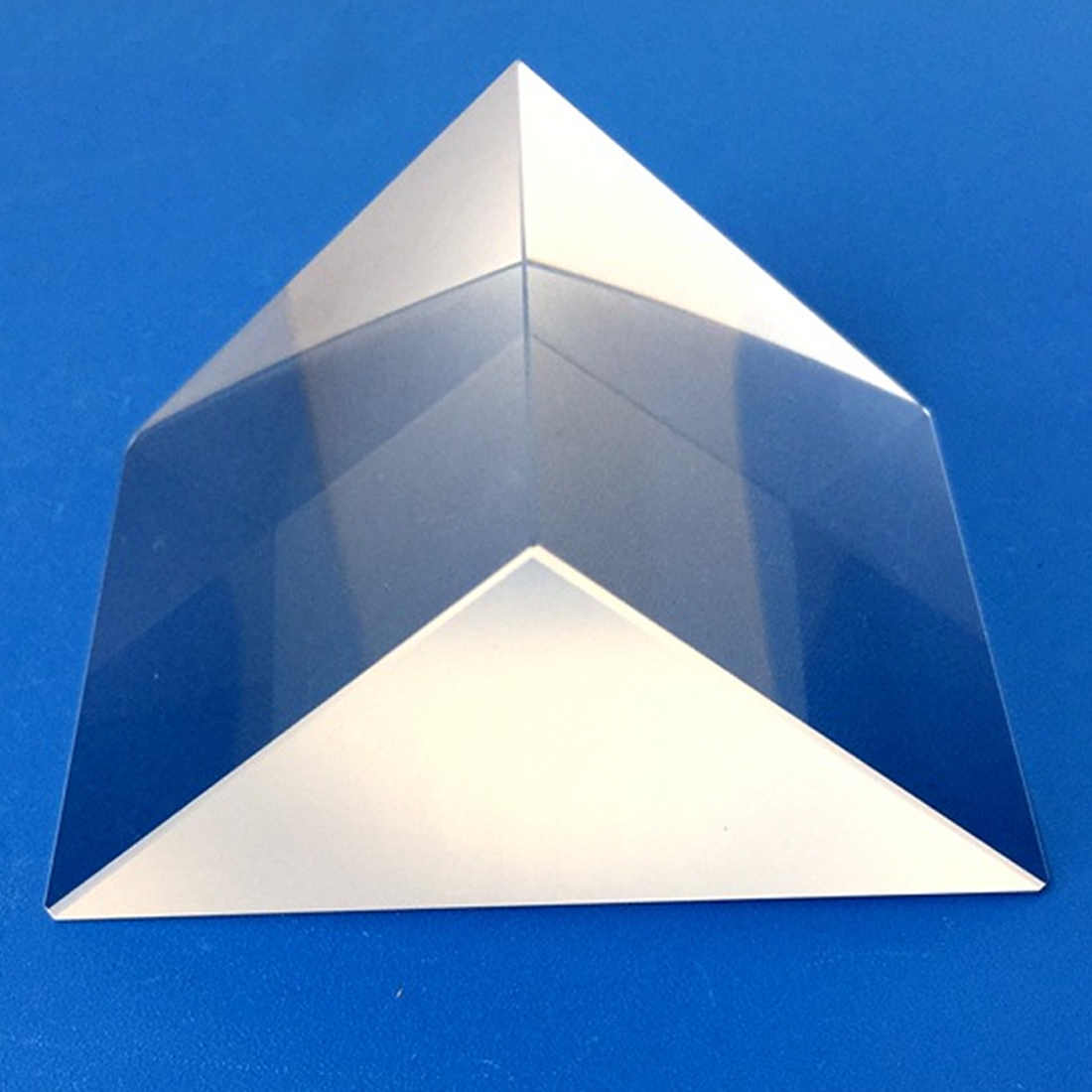 5ecdf92342 ... K9 Optical Glass Right Angle Reflecting Triangular Prism For Teaching  Light Spectrum Total reflection Triangular color ...
