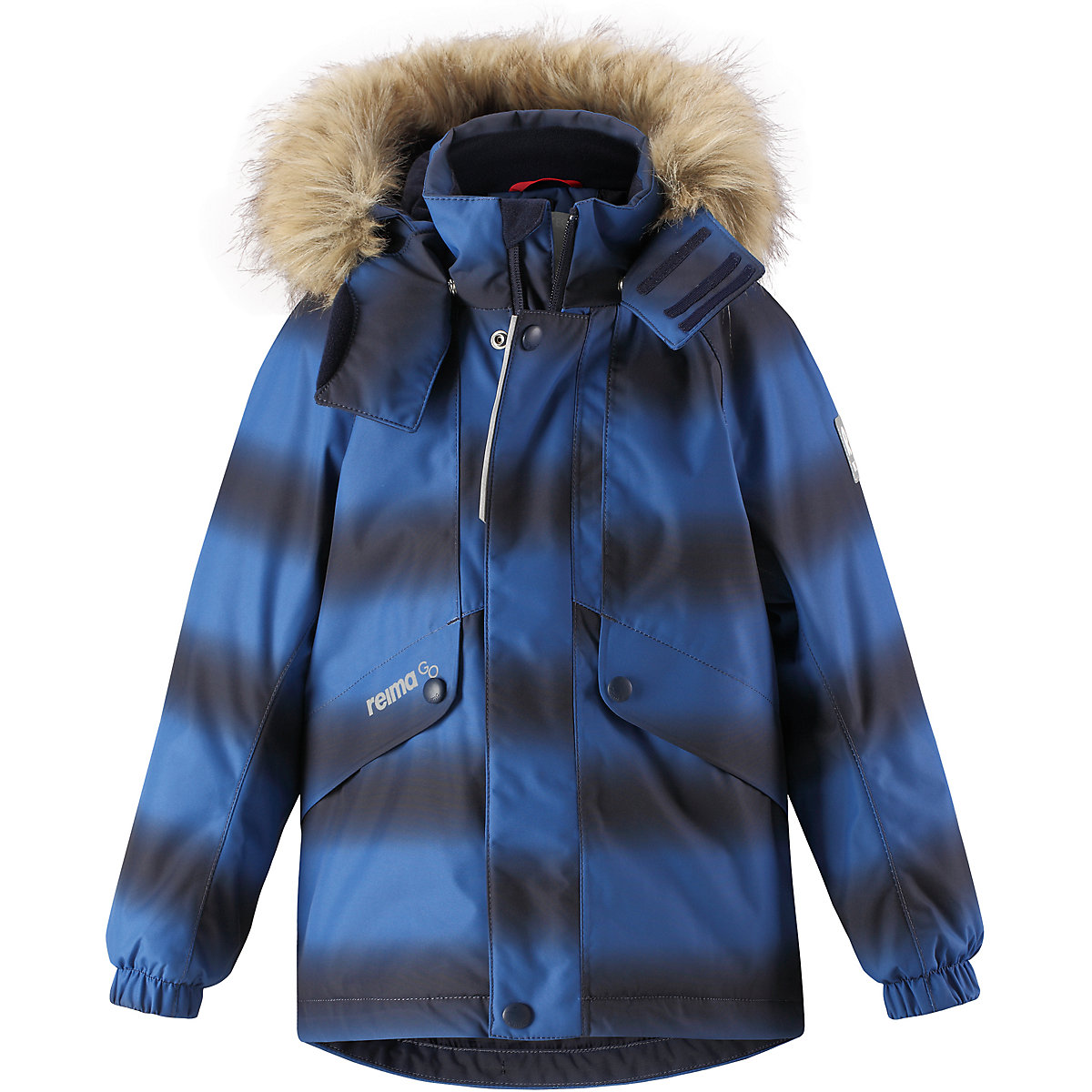 REIMA Jackets 8688793 For boys Polyester  winter fur baby clothing boy Jacket winter jacket men casual male coat warm men zipper outwear duck down jacket middle long mens parka with fur hood thick jackets