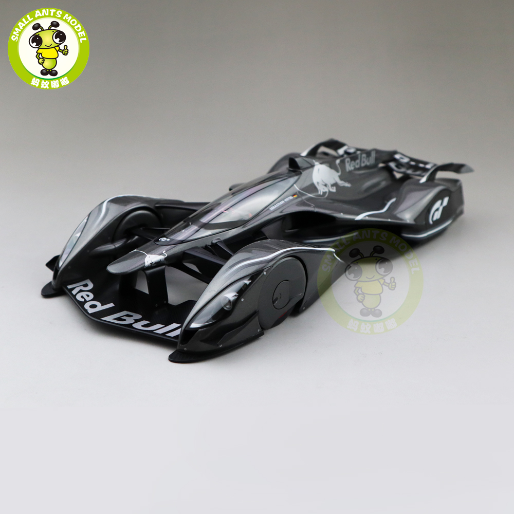 1/18 AUTOART 18116 RED BULL X2014 FAN CAR DARK SILVER METALLIC Car Model Toys Kids Collection