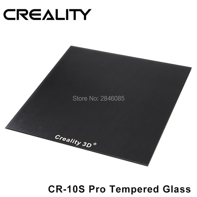 CREALITY 3D Tempered Glass Build Plate Special Chemical Coating Size 310x320x3mm For CR 10s Pro/CR X 3D Printer