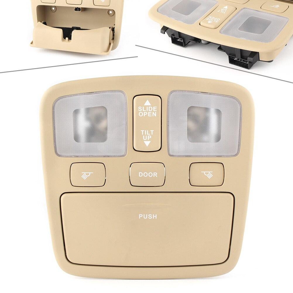 Mappage automatique Lampe Console Toit Ouvrant Pour Hyundai Accent 2006 2007 2008 2009 2010 2012 Pièces de voiture