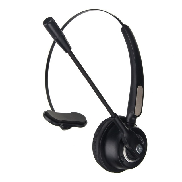 LEORY BH520 Wireless bluetooth Call Center Headphones Business Customer Serivice LED Headphone with Rotatable Mic