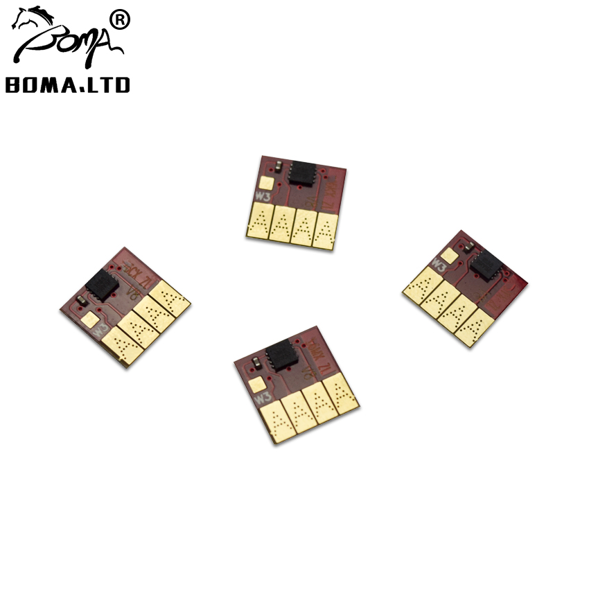 BOMA.LTD 4 Color/Lot Newest Permanent ARC Chip For HP950 951 950XL 951XL For HP Officejet Pro 276dw 251dw 8100 8600 PrinterBOMA.LTD 4 Color/Lot Newest Permanent ARC Chip For HP950 951 950XL 951XL For HP Officejet Pro 276dw 251dw 8100 8600 Printer