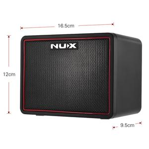Image 5 - NUX 4.2W DC9V Guitar Amp Speaker Mini Amplifier Portable Multifunction Mighty Lite BT Mini Desktop Guitar Accessories