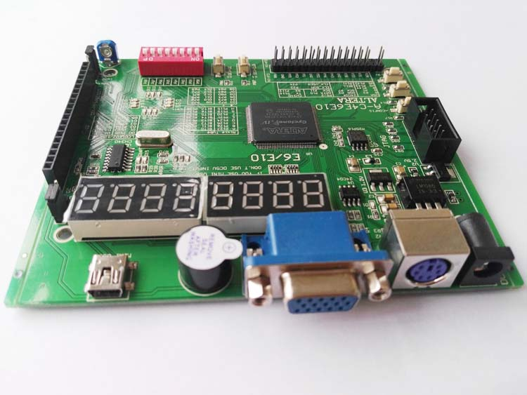 USB Blaster + Altera Fpga Board Altera Kit  Fpga Development Board EP4CE6E22C8N Board  Cyclone IV Board