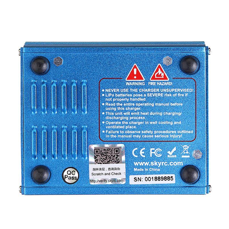 Original SKYRC IMAX B6 60W 6A cargador de equilibrio descargador US/UE/UK/AU con fuente de alimentación para LiPo Li-ion LiFe Nimh Nicd batería - 4