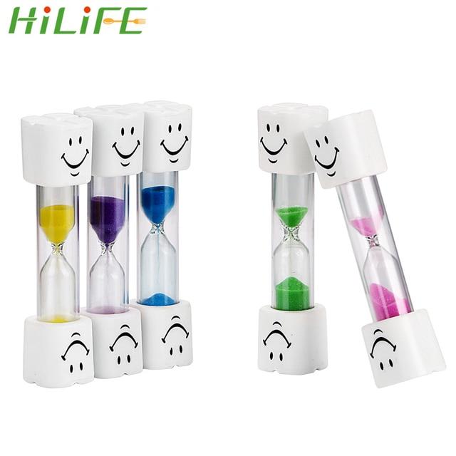 3 minutos Relógios Emoticon Temporizador Da Areia Ampulhetas Temporizador Escova De Dentes Para Escovar Os Dentes Dos Miúdos Home Decor