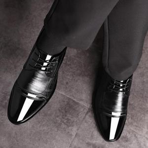 Image 3 - Mode Oxford Business Mannen Schoenen Lente Herfst Lederen Hoge Kwaliteit Zacht Toevallige Ademende Mannen Flats Zip Schoenen