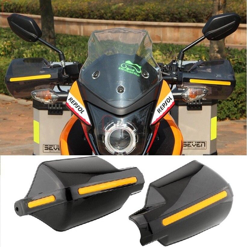 Lmodri motocicleta mano guardia guardamanos escudo a prueba de viento moto Motocross Protector Universal modificación equipo de protección