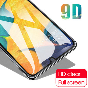 Image 2 - 9D Curved Tempered Glass For Samsung Galaxy A10 A20 A30 A40 A50 A60 Protective Film on A 10 20 30 40 50 60 Screen Protector glas