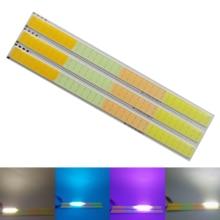 2018 New MIX four color 17cm DC 12V 4w led cob strip lamp light emitting diode colorful cob for auto bulb cob led strip chip недорого