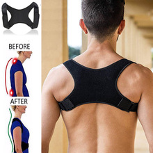 Spine Posture Corrector Back Support Belt Shoulder Bandage Back Spine Posture Correction Humpback Band Corrector Pain Relief cheap CN(Origin) Adult Composite Cloth Spine Posture Corrector Bandage Back Support Posture Humpback Correction Band Back Support