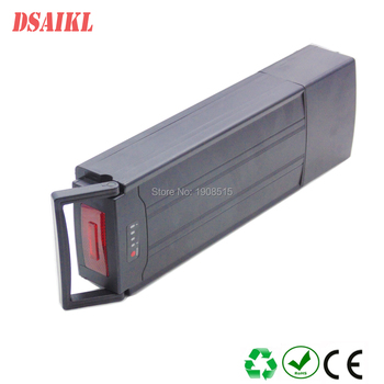 EU US no tax 500W Rear Rack Ebike Battery 36V 10Ah 11.6ah 12ah 13ah 14ah 15ah 16ah 17.5ah 20ah 25ah 28Ah battery pack image
